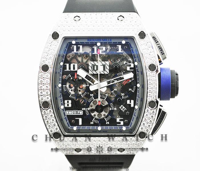 Richard Mille RM011 Top Diamonds Asia Edition