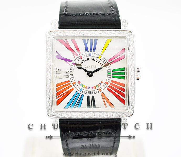 Franck Muller Master Square Color Dreams Quartz 6002 M B QZ